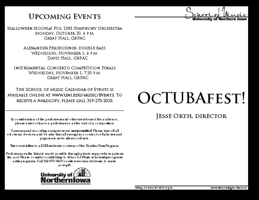 OcTUBAfest - October 27, 2017