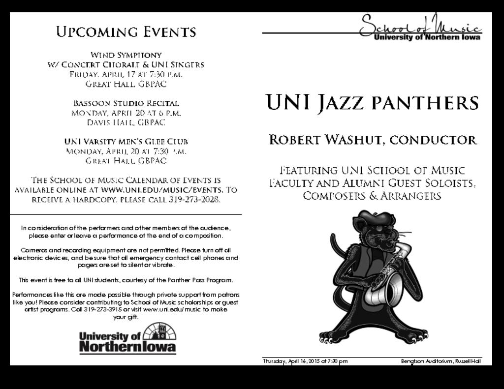 Jazz Panthers - April 16, 2015
