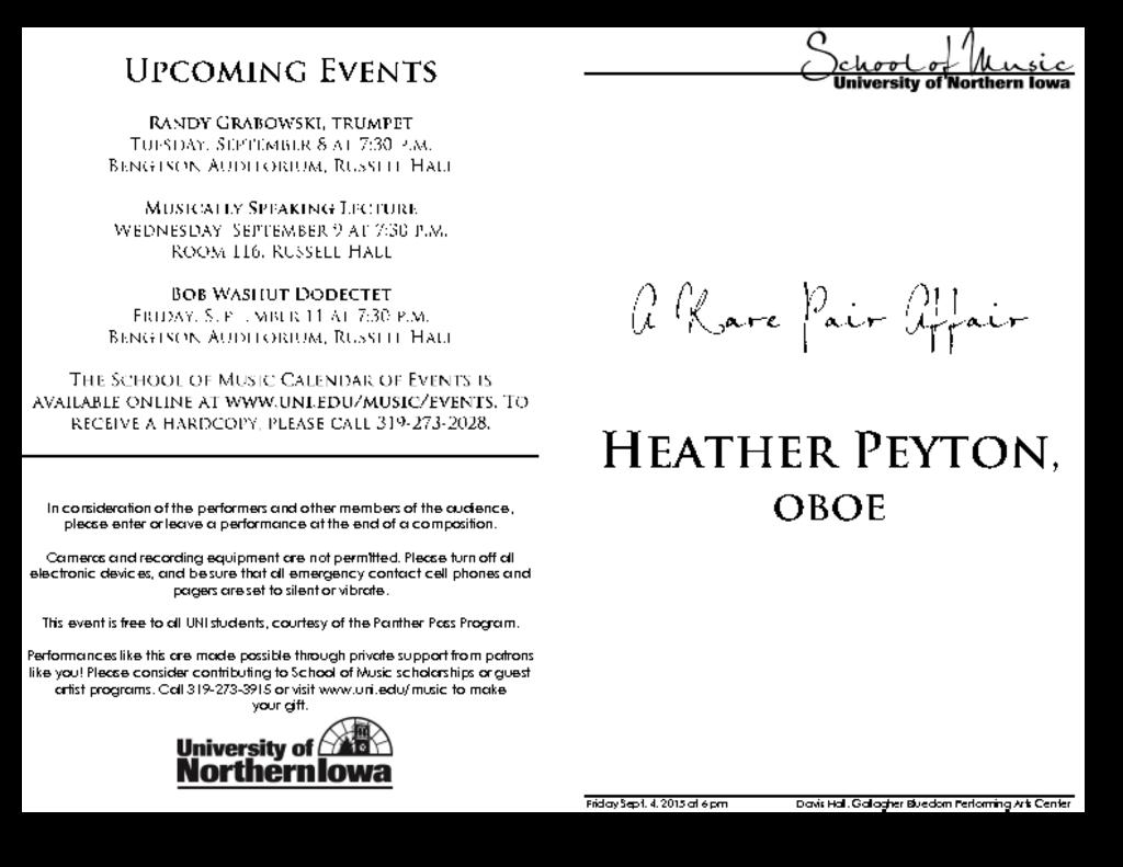 Heather Peyton - September 4, 2015