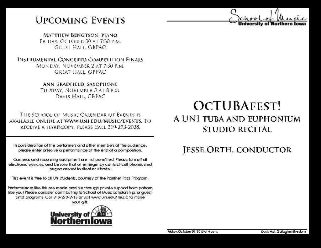 OcTUBAfest - October 30, 2015