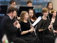 Clarinet Studio performs pre-show