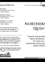 Northern Brass Quintet - November 6, 2018