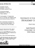 UNI Holiday Concert - December 4, 2018
