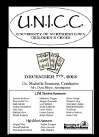 UNI Children's Choir - December 7, 2018