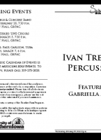 Ivan Trevino, percussion - February 27, 2019