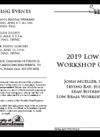 Low Brass Workshop - April 7, 2019