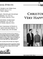 Christopher's Very Happy. Band. - January 24, 2020
