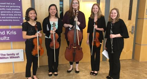 Verismo senior quartet